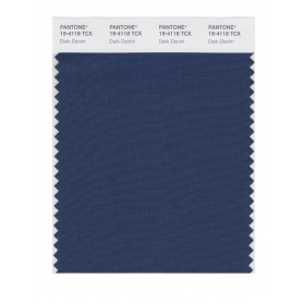 Pantone 19-4118 TCX Swatch Card Dark Denim