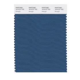 Pantone 19-4127 TCX Swatch Card Midnight