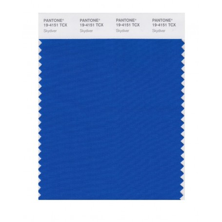 Pantone 19-4151 TCX Swatch Card Skydiver