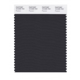 Pantone 19-4205 TCX Swatch Card Phantom