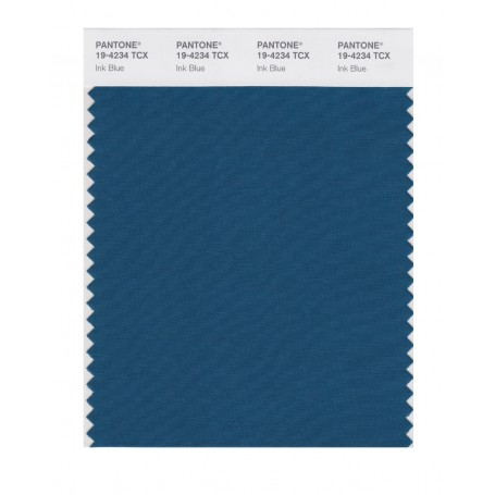 Pantone 19-4234 TCX Swatch Card Ink Blue