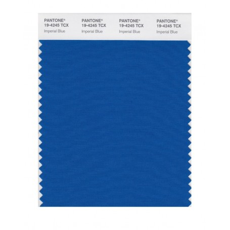 Pantone 19-4245 TCX Swatch Card Imperial Blue