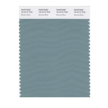 Pantone 16-4712 TCX Swatch Card Mineral Blue