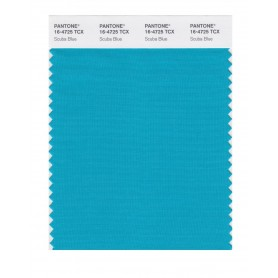 Pantone 16-4725 TCX Swatch Card Scuba Blue