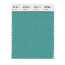 Pantone 16-5119 TCX Swatch Card Sea Blue