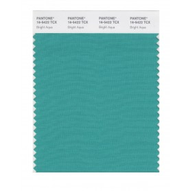 Pantone 16-5422 TCX Swatch Card Bright Aqua