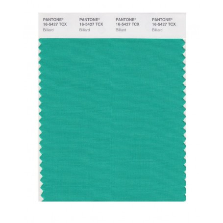 Pantone 16-5427 TCX Swatch Card Billiard