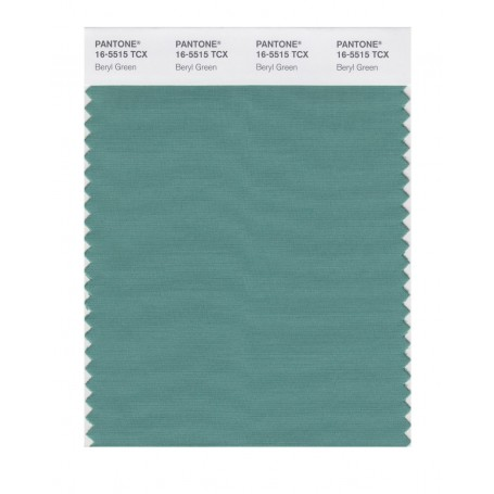 Pantone 16-5515 TCX Swatch Card Beryl Green