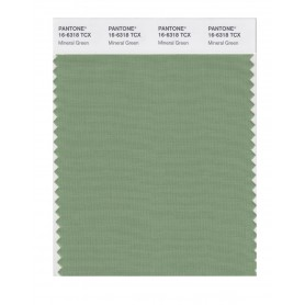 Pantone 16-6318 TCX Swatch Card Mineral Green