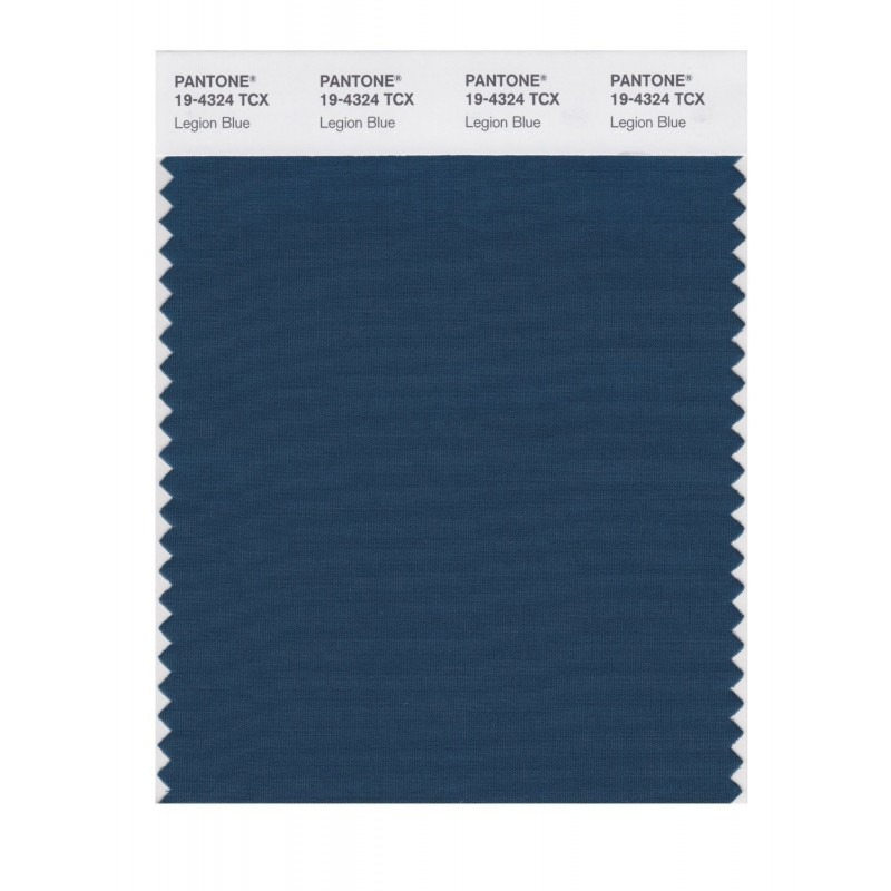 Pantone 19-4324 TCX Swatch Card Legion Blue