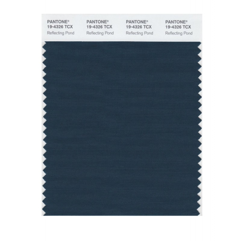 Pantone 19-4326 TCX Swatch Card Reflecting Pond