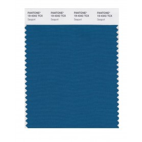 Pantone 19-4342 TCX Swatch Card Seaport