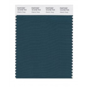 Pantone 19-4726 TCX Swatch Card Atlantic Deep