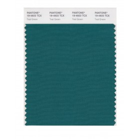 Pantone 19-4922 TCX Swatch Card Teal Green