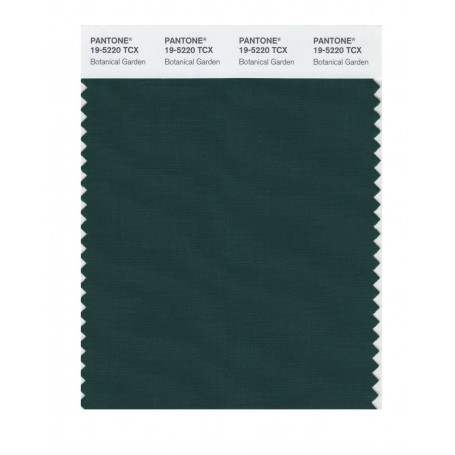Pantone 19-5220 TCX Swatch Card Botanical Garden