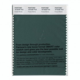 Pantone 19-5230 TCX Swatch Card Forest Biome
