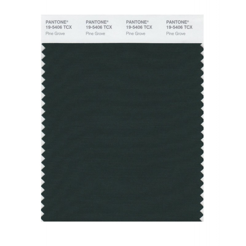 Pantone 19-5406 TCX Swatch Card Pine Grove