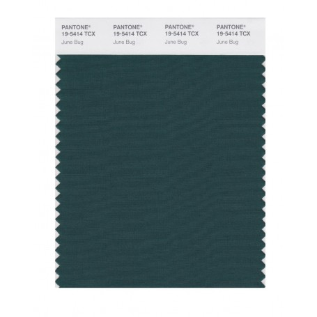Pantone 19-5414 TCX Swatch Card June Bug