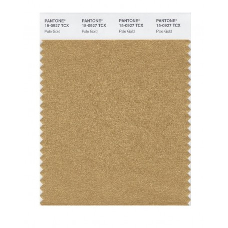 Pantone 15-0927 TCX Swatch Card Pale Gold
