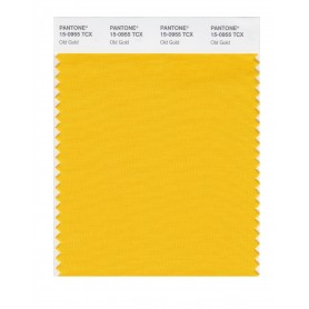 Pantone 15-0955 TCX Swatch Card Old Gold