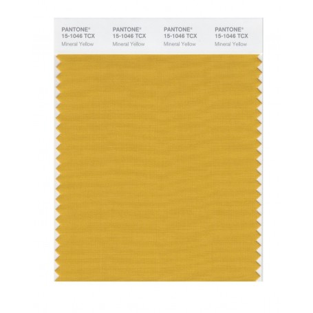 Pantone 15-1046 TCX Swatch Card Mineral Yellow