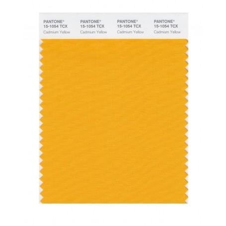 Pantone 15-1054 TCX Swatch Card Cadmium Yellow