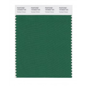 Pantone 19-6026 TCX Swatch Card Verdant Green