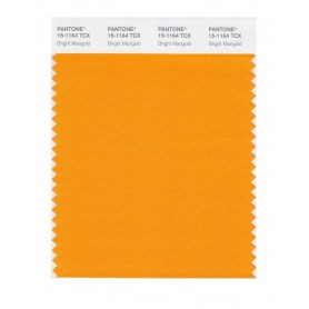 Pantone 15-1164 TCX Swatch Card Bright Marigold