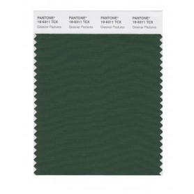 Pantone 19-6311 TCX Swatch Card Greener Pastures