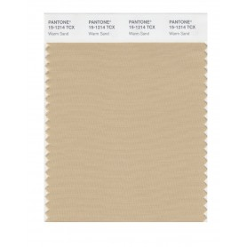 Pantone 15-1214 TCX Swatch Card Warm Sand