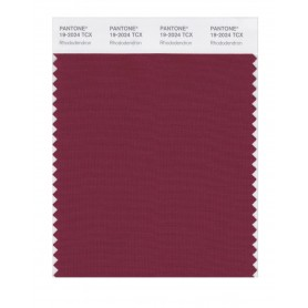 Pantone 19-2024 TCX Swatch Card Rhododendron