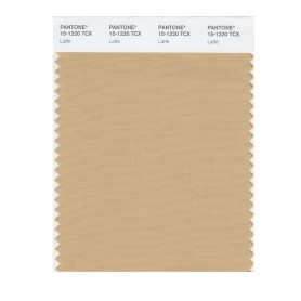 Pantone 15-1220 TCX Swatch Card Latte