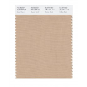 Pantone 15-1314 TCX Swatch Card Cuban Sand
