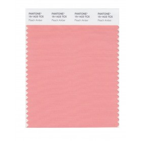 Pantone 15-1423 TCX Swatch Card Peach Amber