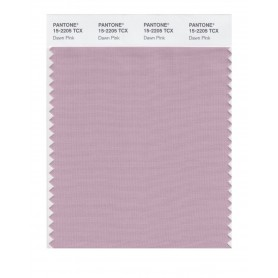Pantone 15-2205 TCX Swatch Card Dawn Pink