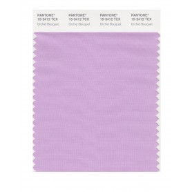 Pantone 15-3412 TCX Swatch Card Orchid Bouquet