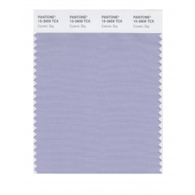Pantone 15-3909 TCX Swatch Card Cosmic Sky