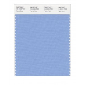 Pantone 15-3920 TCX Swatch Card Placid Blue