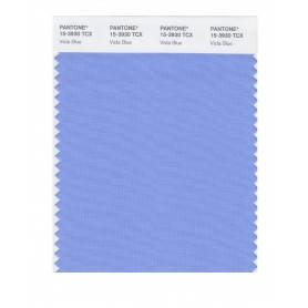 Pantone 15-3930 TCX Swatch Card Vista Blue