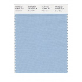 Pantone 15-4005 TCX Swatch Card Dream Blue