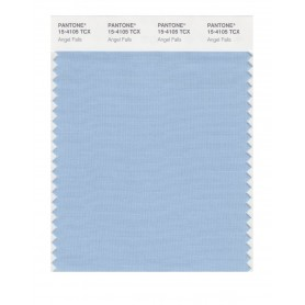 Pantone 15-4105 TCX Swatch Card Angel Falls