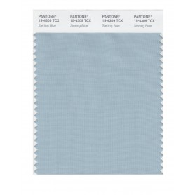 Pantone 15-4309 TCX Swatch Card Sterling Blue