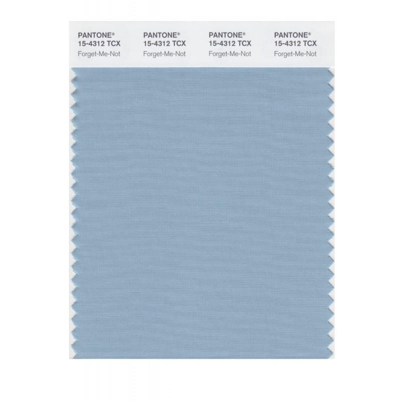 Pantone 15-4312 TCX Swatch Card Forget-Me-Not