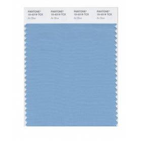 Pantone 15-4319 TCX Swatch Card Air Blue