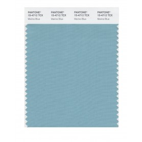 Pantone 15-4712 TCX Swatch Card Marine Blue