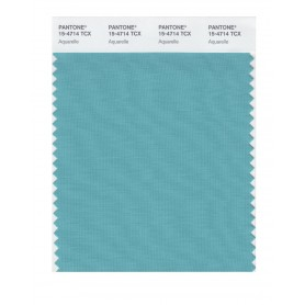 Pantone 15-4714 TCX Swatch Card Aquarelle