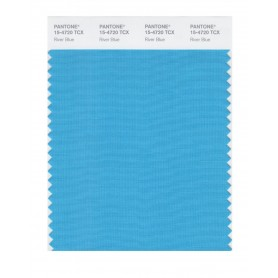 Pantone 15-4720 TCX Swatch Card River Blue