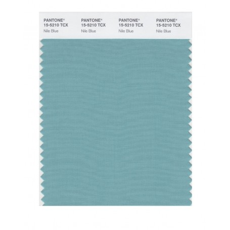 Pantone 15-5210 TCX Swatch Card Nile Blue