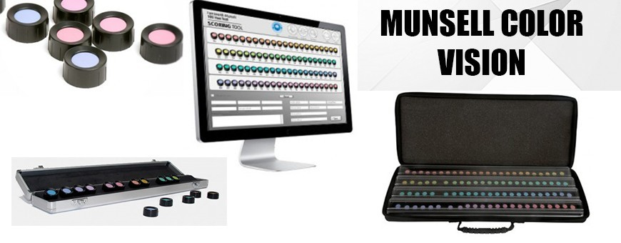 Munsell Color Vision Tests