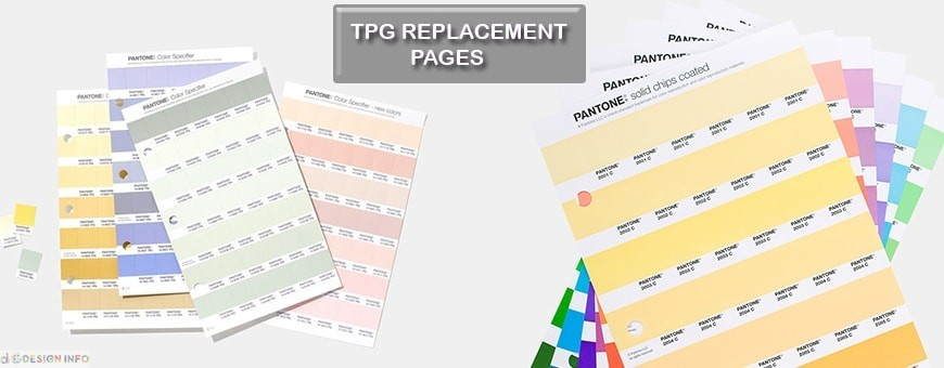 Pantone TPG Replacement Page | Fashion, Home & Interiors | Buy in India